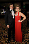 Connor Wiginton and Megan Dilger at the Trees for Hope Gala at the Omni Hotel Friday Nov.13, 2015.(Dave Rossman photo)