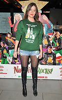 Lucy Horobin at the &quot;Nativity Rocks!&quot; gala film screening, Vue West End, Leicester Square, London, England, UK, on Sunday 04 November 2018.<br /> CAP/CAN<br /> &copy;CAN/Capital Pictures