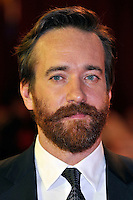 Matthew Macfadyen.'The Three Musketeers in 3D' world film premiere, Vue cinema, Westfield, London, England. 4th October 2011.headshot portrait beard facial hair black white beard facial hair .CAP/PL.©Phil Loftus/Capital Pictures.