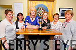 Pictured at the Final of the South Kerry Ladies Darts Final in Cha Healy's Bar, Cahersiveen on Friday night last were l-r; (The Shebeen Bar - Runners up)Pauline Horgan, Monica O'Shea, Cathriona Fitzgerald, (Craineens Bar - Winners) Sheila O'Donoghue, Breda O'Shea & Sadie Curran.