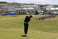 Conor Moore (AM) on the 2nd fairway during the Pro-Am of the Irish Open at LaHinch Golf Club, LaHinch, Co. Clare on Wednesday 3rd July 2019.<br /> Picture:  Thos Caffrey / Golffile<br /> <br /> All photos usage must carry mandatory copyright credit (© Golffile | Thos Caffrey)