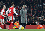 Arsenal's Arsene Wenger looks on dejected during the EFL Cup match at the Emirates Stadium, London. Picture date October 30th, 2016 Pic David Klein/Sportimage