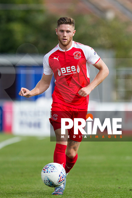 Wes Burns of Fleetwood Town during the Sky Bet League 1 match between Bristol Rovers and Fleetwood Town at the Memorial Stadium, Bristol, England on 26 August 2017. Photo by Mark  Hawkins.