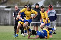 College Rugby - St Bernard's v Rongotai College at St Bernard's, Lower Hutt, New Zealand on Saturday 12 September 2020. <br /> Photo by Masanori Udagawa. <br /> www.photowellington.photoshelter.com