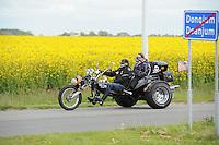 MOTORSPORT: FRANEKER: 25-05-2015, Elfstedentocht voor motoren, ©foto Martin de Jong