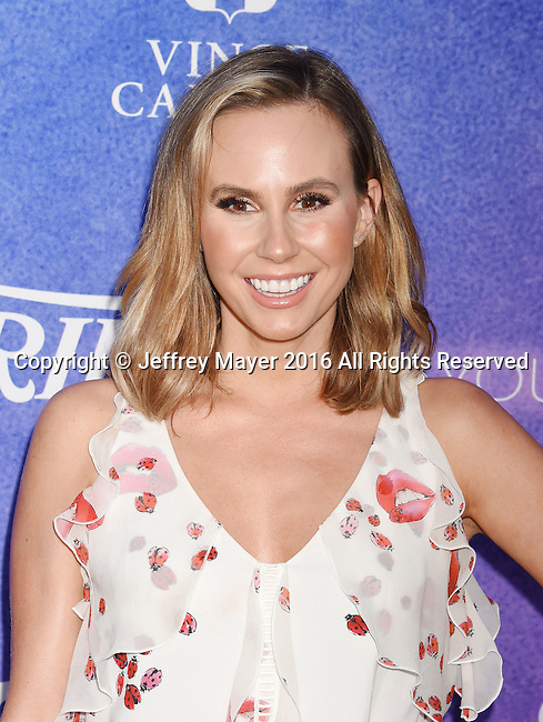 HOLLYWOOD, CA - AUGUST 16: TV personality Keltie Knight arrives at Variety's Power Of Young Hollywood at NeueHouse Hollywood on August 16, 2016 in Los Angeles, California.