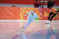 OLYMPICS: SOCHI: Adler Arena, 08-02-2014, 5000 m Men, Bart Swings (BEL), ©foto Martin de Jong