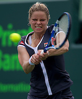 Kim CLIJSTERS (BEL) against Shahar PEER (ISR) in the thrid round of the women's singles. Clijsters beat Peer 6-0 6-1..International Tennis - 2010 ATP World Tour - Sony Ericsson Open - Crandon Park Tennis Center - Key Biscayne - Miami - Florida - USA - Sun 28th Mar 2010..© Frey - Amn Images, Level 1, Barry House, 20-22 Worple Road, London, SW19 4DH, UK .Tel - +44 20 8947 0100.Fax -+44 20 8947 0117