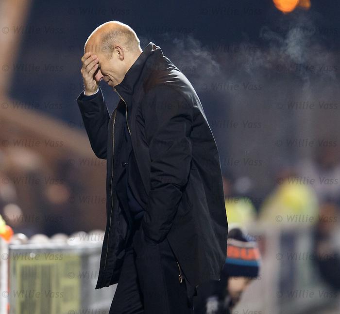 Alex Rae dejection as St Mirren lose again