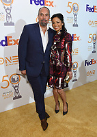 09 March 2019 - Hollywood, California - Roger Guenveur Smith, Meta Golding. 50th NAACP Image Awards Nominees Luncheon held at the Loews Hollywood Hotel. Photo Credit: Birdie Thompson/AdMedia