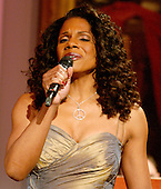Washington, D.C. - February 6, 2006 -- Audra McDonald performs for United States President George W. Bush and first lady Laura Bush in the East Room of the White House honoring the Dance Theatre of Harlem and its Founder and Artistic Director, Arthur Mitchell,  in Washington, D.C. on February 6, 2006. <br /> Credit: Ron Sachs / CNP