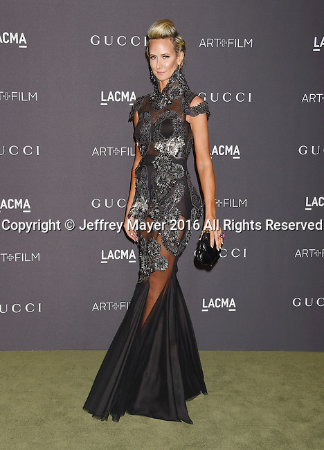 LOS ANGELES, CA - OCTOBER 29: Lady Victoria Hervey attends the 2016 LACMA Art + Film Gala honoring Robert Irwin and Kathryn Bigelow presented by Gucci at LACMA on October 29, 2016 in Los Angeles, California.