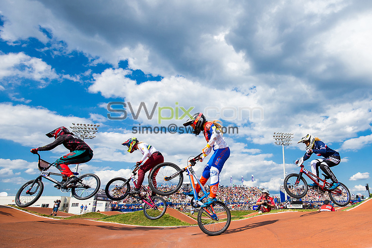 Picture by Alex Whitehead/SWpix.com - 29/07/2017 - Cycling - 2017 UCI BMX World Championships - Novant Health BMX Supercross Track, Rock Hill, USA.
