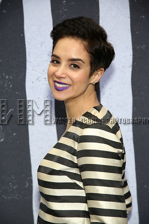 "Alexandra Silber attends the Broadway Opening Night Performance for ""Beetlejuice"" at The Wintergarden on April 25, 2019  in New York City."