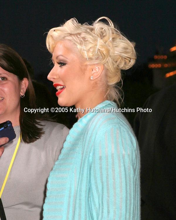 Christina Aguilera.Disneyland 50th Anniversary Party.Anaheim,  CA.May 4, 2005.©2005 Kathy Hutchins / Hutchins Photo