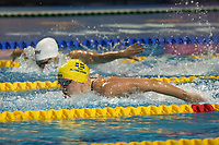 Sarah Sjoestroem of Sweden won the Women's 400m Freestyle competition at the FINA Champions Swim Series at the Danube Arena in Budapest, Hungary on May 11, 2019. ATTILA VOLGYI