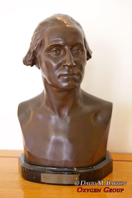 Bust of George Washington, Chiam & Vera Weizmann's Home