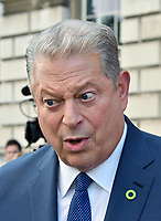 LONDON, UK, AUG 10: Al Gore attends as his documentary marks opening of Film4 Summer Screen film festival at Somerset House on August 10th, 2017, London, UK.<br /> CAP/JOR<br /> &copy;JOR/Capital Pictures /MediaPunch ***NORTH AND SOUTH AMERICAS ONLY***