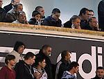 FUDBAL, BEOGRAD, 08. Oct. 2010. -Predsednik FSS-a Tomislav Karadzic.  Utakmica 3. kola kvalifikacija za Evropsko prvenstvo 2012. izmedju Srbije i Estonije odigrane na stadionu Partizana. / Serbia vs Estonia - 3rd round of UEFA EURO 2012 qualification. Foto: Nenad Negovanovic