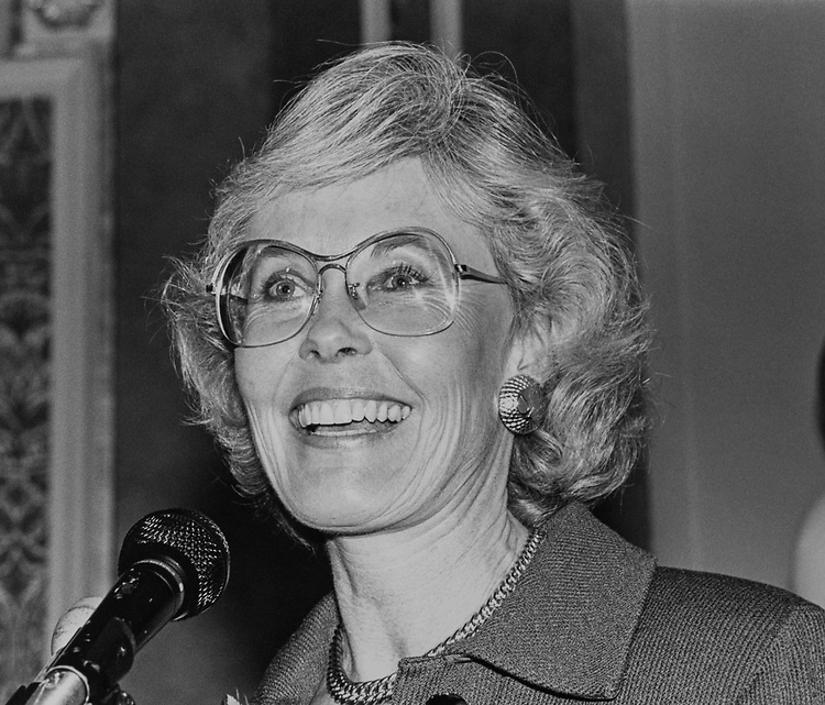 Rep. Jennifer Dunn, R-Wash., in December 1992. (Photo by Laura Patterson/CQ Roll Call via Getty Images)