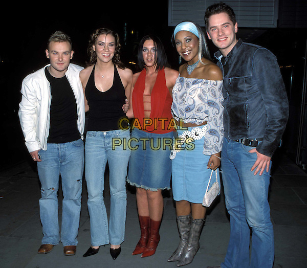 "LIBERTY X..""Star Wars II: Attack Of The Clones"" Film Premiere ..Ref : 11693..pop band, music group, denim, jeans..www.capitalpictures.com..sales@capitalpictures.com..©Capital Pictures..full length, full-length"