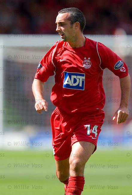 Gary Dempsey, Aberdeen.stock season 2005-2006.pic willie vass