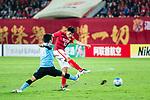 Guangzhou Midfielder Zheng Zhi (R) in action during the AFC Champions League 2017 Group G match between Guangzhou Evergrande FC (CHN) vs Kawasaki Frontale (JPN) at the Tianhe Stadium on 14 March 2017 in Guangzhou, China. Photo by Marcio Rodrigo Machado / Power Sport Images