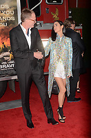 WESTWARD, CA - OCTOBER 8: Paul Bettany, Jennifer Connelly at the Only The Brave World Premiere at the Village Theater in Westwood, California on October 8, 2017. Credit: David Edwards/MediaPunch