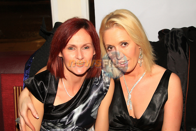 Georgina Brennan and Martina Grey in Barroco for New Year's Eve..Picture: Shane Maguire / www.newsfile.ie.
