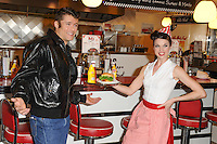 "Ben Freeman at the photocall for ""Happy Days The Musical"" at Ed's Easy Diner, Trocadero, London. 08/01/2014 Picture by: Steve Vas / Featureflash"