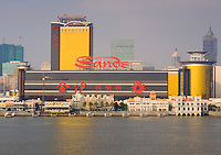 The Sands Casinoin Macau. The ex-Portuguese colony of Macau in South China is a mecca for gamblers in Asia and especially China and makes more money that Las Vegas.
