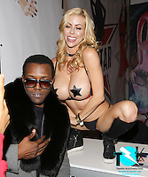 Moe The Monster, Alexis Fawx at AVN Expo, <br /> Hard Rock Hotel, <br /> Las Vegas, NV, Wednesday January 18, 2017.