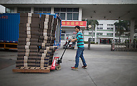 A general view of the Yue Yuen Industrial Holdings Limited factory in Dongguan, Guangdong Province, China, 03 March 2015.