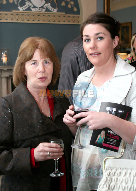 Maureen Smith and Leonore Flanagan at the Fashion Show in Slane Castle in aid of Stackallen Tennis and Pitch and Putt Club and supporting Action Breast Cancer...Photo NEWSFILE/Jenny Matthews.(Photo credit should read Jenny Matthews/NEWSFILE)....This Picture has been sent you under the condtions enclosed by:.Newsfile Ltd..The Studio,.Millmount Abbey,.Drogheda,.Co Meath..Ireland..Tel: +353(0)41-9871240.Fax: +353(0)41-9871260.GSM: +353(0)86-2500958.email: pictures@newsfile.ie.www.newsfile.ie.FTP: 193.120.102.198.