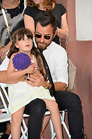 Justin Theroux &amp; Maple Sylvie Bateman at the Hollywood Walk of Fame Star Ceremony honoring actor Jason Bateman. Los Angeles, USA 26 July 2017<br /> Picture: Paul Smith/Featureflash/SilverHub 0208 004 5359 sales@silverhubmedia.com