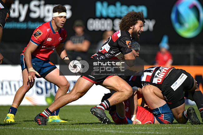 NELSON, NEW ZEALAND September 23: Mitre 10 Cup Mako v Counties, Tarfalgar Park, Nelson, New Zealand, September 23, 2018 (Photos by: Barry Whitnall/Shuttersport Ltd