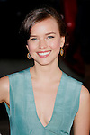 """HOLLYWOOD, CA. - April 14: Allison Miller  arrives at the premiere of Warner Bros. """"17 Again"""" held at Grauman's Chinese Theatre on April 14, 2009 in Hollywood, California."""