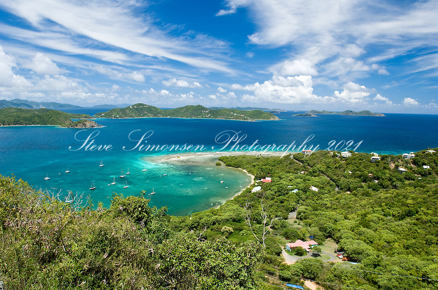 View of Johnson Bay<br /> St. John<br /> U.S. Virgin Islands