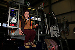 Tommy Sweeney at the open day in the clogherhead lifeboat station<br /> Picture: Fran Caffrey www.newsfile.ie