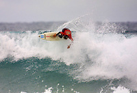 Mark Occhilupo (AUS)..Andy Irons (HAW) defeat Sunny Garcia (HAW) in an all Hawaiian final of the annual Rip Curl Pro held at Bells Beach, Torquay, Victoria, Australia, over the Easter holiday break. Irons  jumped to the #1 spot on the world rankings after his win. (Photo: Joliphotos.com)