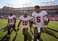 TAMPA, FL - SEPTEMBER 30: of the Tampa Bay Buccaneers during the game against the Washington Redskins at Raymond James Stadium on September 30, 2012, in Tampa, Florida. The Buccaneers lost 24-22. (photo by Matt May/Tampa Bay Buccaneers)