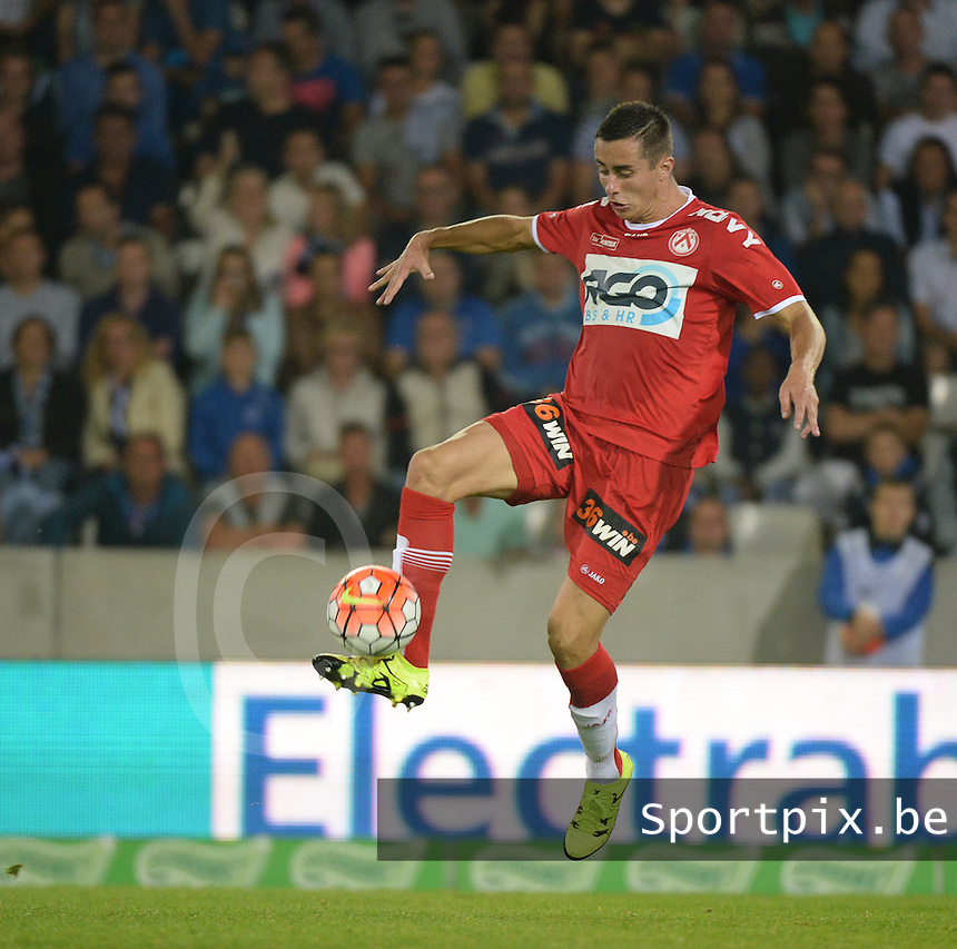 Club Brugge - KV Kortrijk : Adam Marusic <br /> Foto VDB / Bart Vandenbroucke