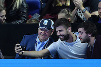 Kevin Spacey, Gerard Pique<br /> Londra 20-11-2016 <br /> Tennis ATP FINALS 2016 <br /> Finale <br /> Foto Antoine Couvercelle / panoramic / Insidefoto