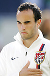 21 June 2007:  United States midfielder Landon Donovan. The United States Men's National Team defeated the national team of Canada 2-1 in a CONCACAF Gold Cup Semifinal match at Soldier Field in Chicago, Illinois.