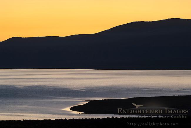 Sunrise over Mono Lake; Mono County; Eastern Sierra; California