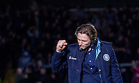 during the Sky Bet League 2 match between Wycombe Wanderers and Crawley Town at Adams Park, High Wycombe, England on 28 December 2015. Photo by Kevin Prescod / PRiME Media Images