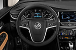 Car pictures of steering wheel view of a 2019 Buick Encore Premium 5 Door Suv Steering Wheel