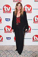 LONDON, UK. September 10, 2018: Emma Atkins at the TV Choice Awards 2018 at the Dorchester Hotel, London.<br /> Picture: Steve Vas/Featureflash