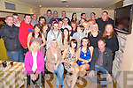 Tanya and Shauna Cahillane, Upper Tullig, Killorglin, pictured with their family and friends as they celebrated their 21st and 18th birthdays in The Manor Inn, Killorglin on Saturday night...
