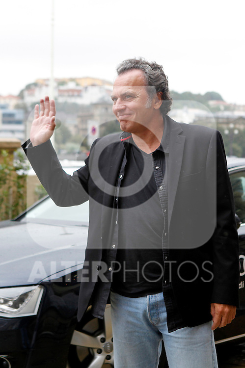 Jose Coronado arrives to Maria Cristina Hotel to attend the 61 San Sebastian Film Festival, in San Sebastian, Spain. September 20, 2013. (ALTERPHOTOS/Victor Blanco)